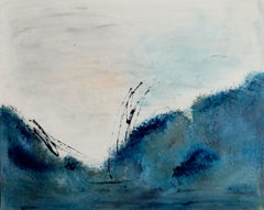 Landscape abstract, Painting, Acrylic on Canvas