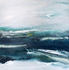 Stormy Times, Painting, Acrylic on Canvas
