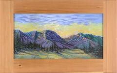 """Cabinet Mountains"" Montana Landscape"