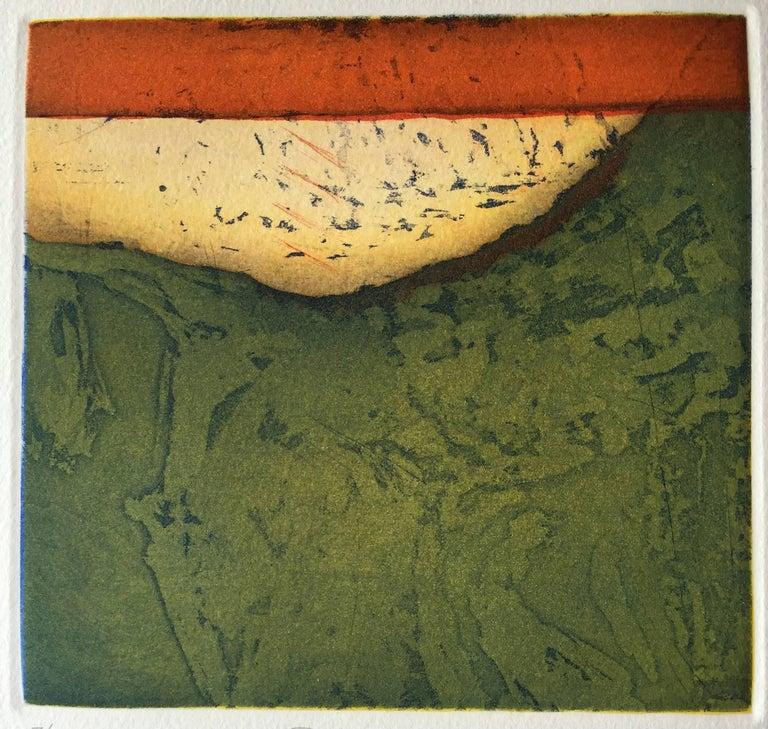 Christian Bozon Abstract Print - Pastoral