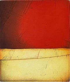 Preludio, abstract landscape by Christian Bozon