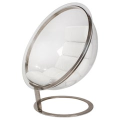 Acrylic Bubble Chair by Christian Daninos, First Edition