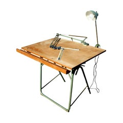 Christian Dell For Franz Kulmann KG Folding Drafting Table