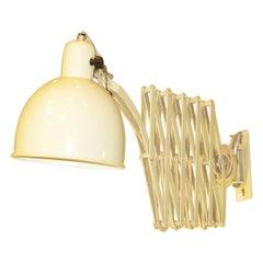 Christian Dell for Kaiser-Idell Scissor Wall Lamp Sconce