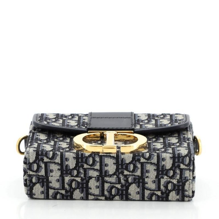 Women's or Men's Christian Dior 30 Montaigne Box Bag Oblique Canvas