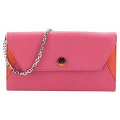 Christian Dior Addict Rendez Vous Wallet on Chain Leather