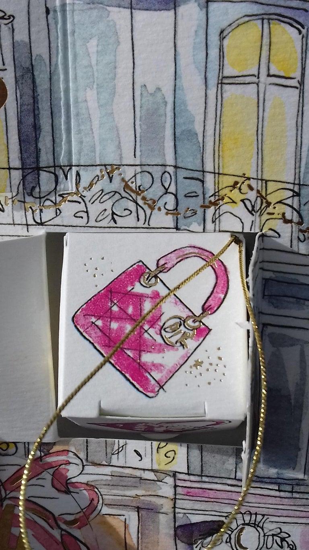 Christian Dior Advent Calendar Empty Christmas For Sale 6