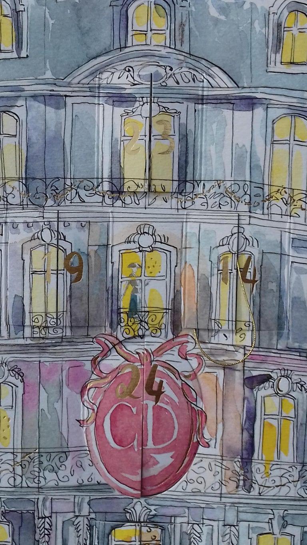 Christian Dior Advent Calendar Empty Christmas For Sale 1