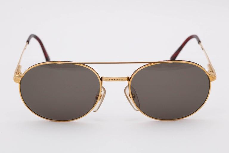 Women's or Men's Christian Dior Aviator Vintage Sunglasses 2779 For Sale
