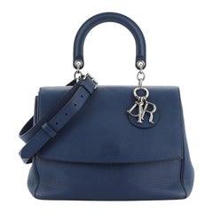 Christian Dior Be Dior Bag Pebbled Leather Medium