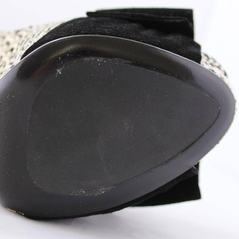 Christian Dior Black and White Sandal  For Sale 2