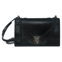 Christian Dior Black Diorama Bag