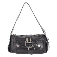 Christian Dior Black Leather Multipocket Small 'Remove Before Flight' Bag