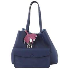 Christian Dior Blossom Handbag Leather Medium