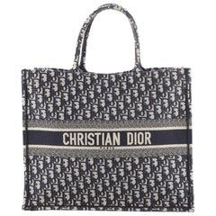 Christian Dior Book Tote Oblique Canvas