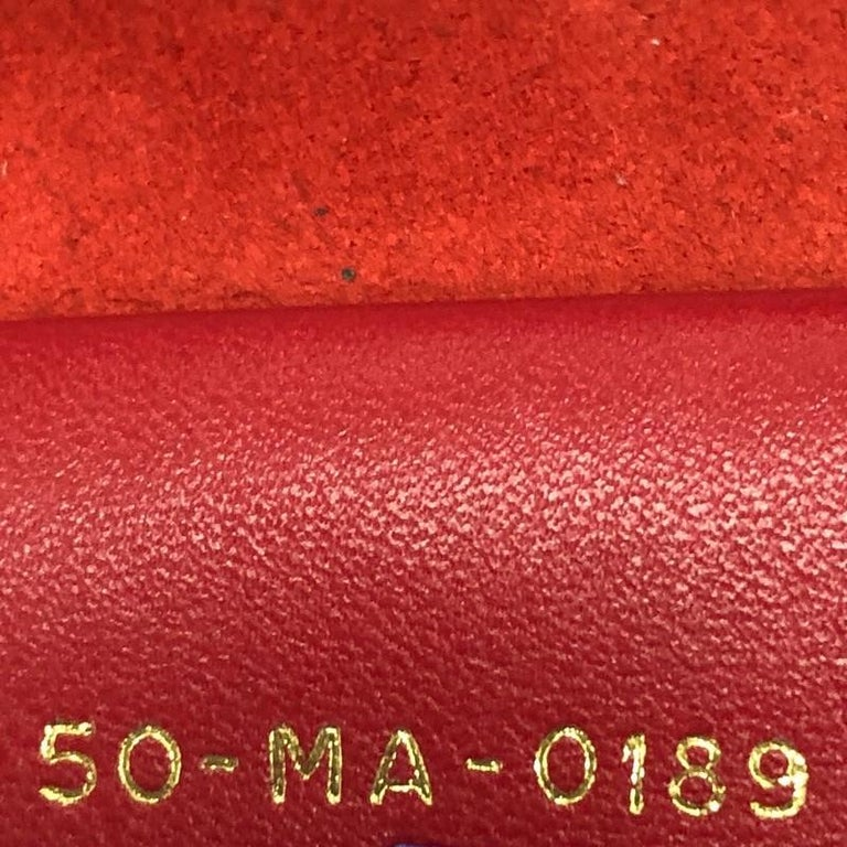 Christian Dior Book Tote Oblique Embossed Calfskin Small For Sale 2