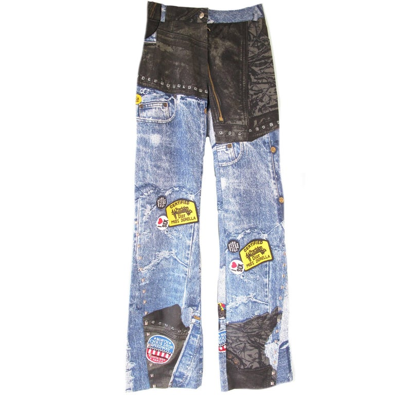 Christian Dior Boutique Studded Jeans