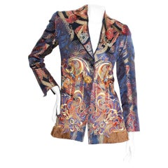 Christian Dior Brocade Jacket By Gianfranco Ferre Circa 1990's