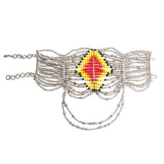 Christian Dior by John Galliano 18 strand 'Maasai' choker necklace, fw 1998