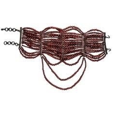 Christian Dior by John Galliano 18 strand 'Maasai' choker necklace, fw 1999