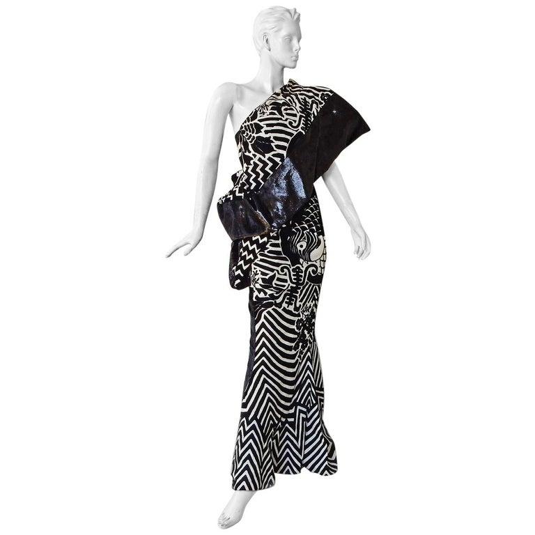Dior by John Galliano Elvira runway gown, 2003
