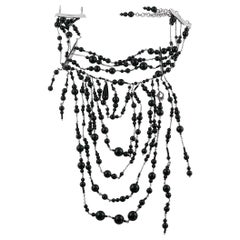 Christian Dior Beaded Choker Necklace