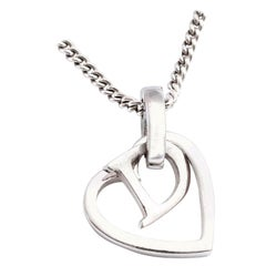 Christian Dior by John Galliano Heart and Logo Necklace