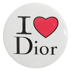 Christian Dior by John Galliano I Heart Dior Pin