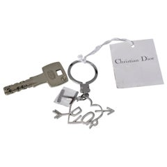 "Christian Dior By John Galliano ""I love Dior"" Keyring Charm"