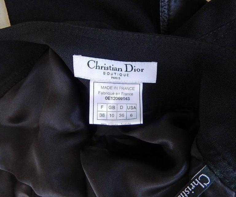 Christian Dior by John Galliano Iconic Runway Assymetric Dress w/ Logo Letters For Sale 4