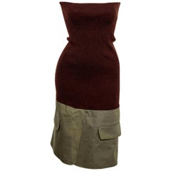 Christian Dior by John Galliano Knit Tube Dress