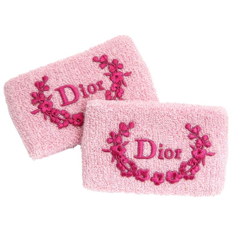 Christian Dior by John Galliano Pink Wrist Band