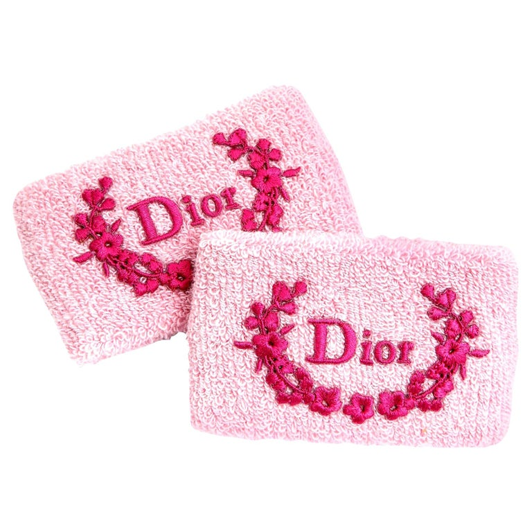 Christian Dior by John Galliano Pink Wrist Band For Sale