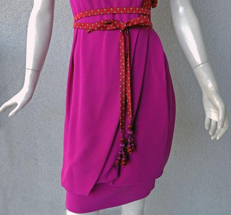 Women's Christian Dior by John Galliano Runway Stylish Asian Inspired Dress For Sale