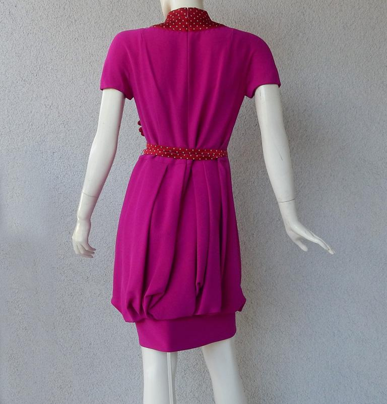 Christian Dior by John Galliano Runway Stylish Asian Inspired Dress For Sale 1