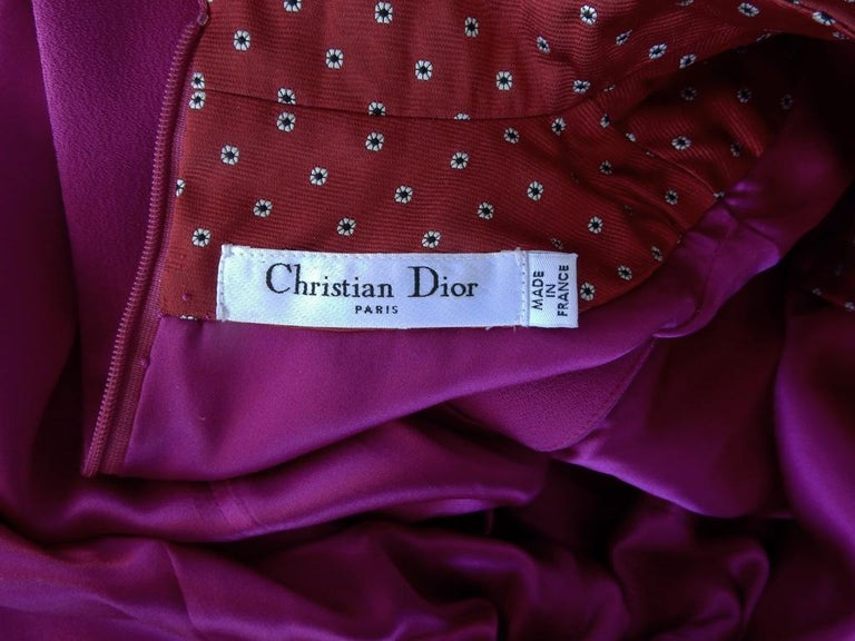 Christian Dior by John Galliano Runway Stylish Asian Inspired Dress For Sale 2