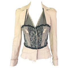 Christian Dior By John Galliano S/S 2006 Runway Blazer Jacket