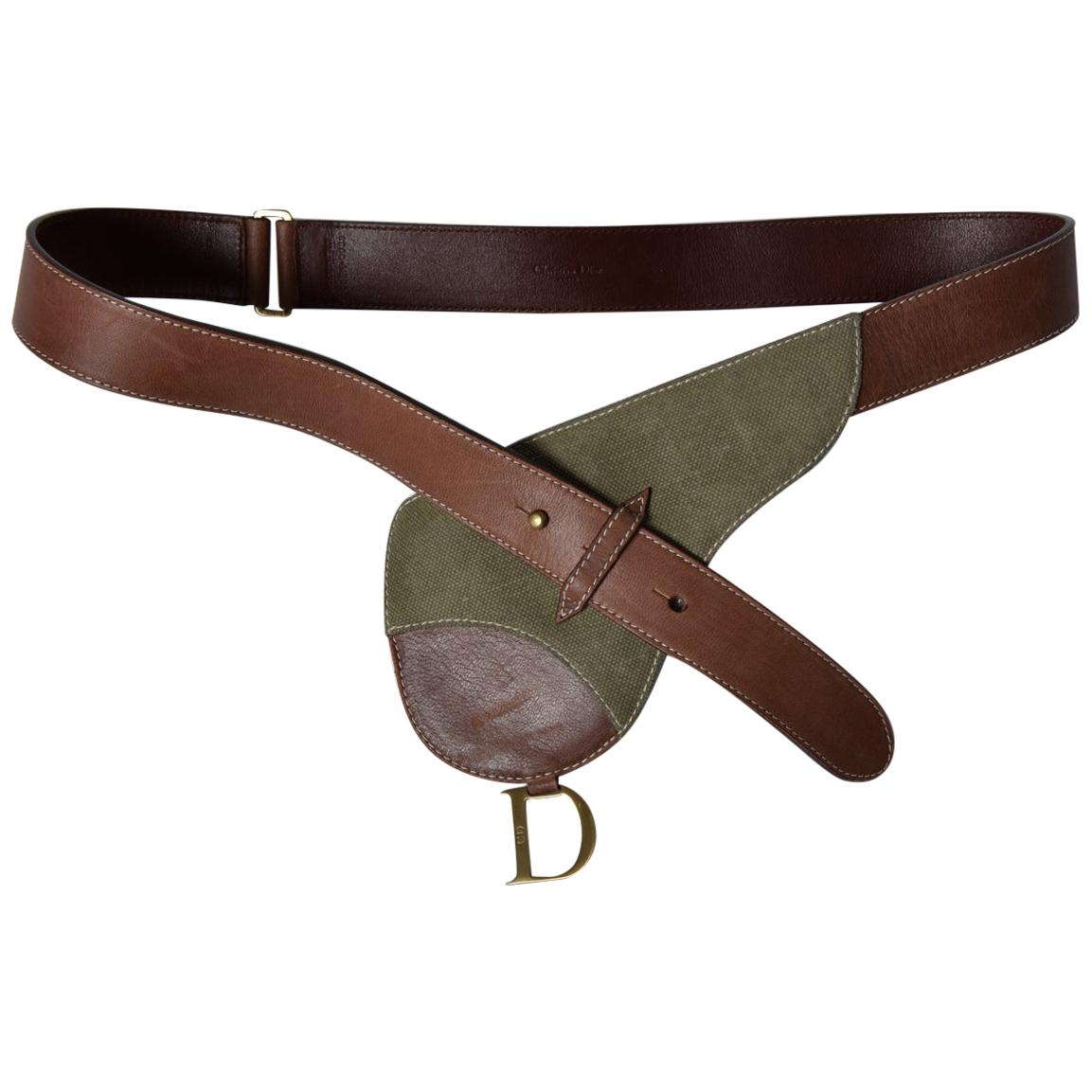 Christian Dior by John Galliano Saddle Belt Bag, Spring-Summer 2002