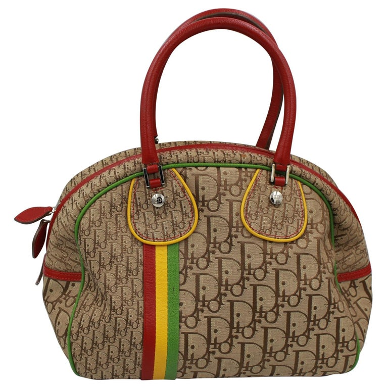 Christian Dior by John Galliano Small Bowling Bag For Sale