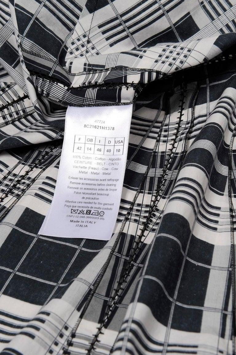 Christian Dior By Maria Grazia Chiuri Runway Day Shirt Dress, Resort 2018 For Sale 9