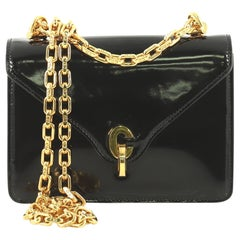 Christian Dior C'est Dior Flap Bag Patent Mini