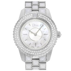 Christian Dior Christal CD112118M003 Steel and Diamonds Quartz Ladies Watch