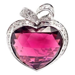 Christian Dior Coeur Romantique Diamond Pink Tourmaline White Gold Ring