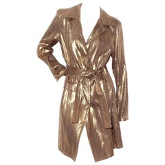 Christian Dior Colleen Gold Trench (2007)