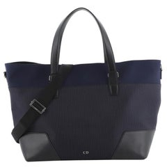 Christian Dior Convertible Homme Tote Canvas and Nylon Large