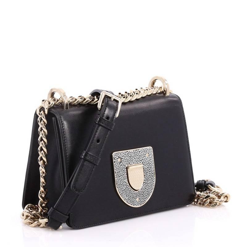 Dior Diorama Club Flap Bag Leather Small n3NzfYzD