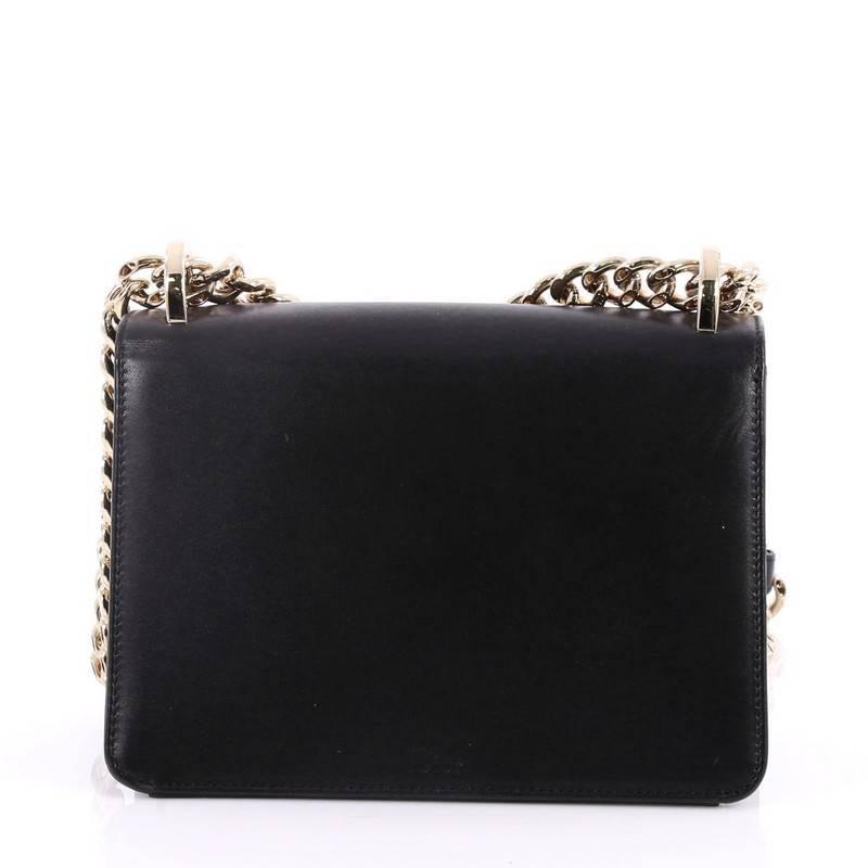 Dior Diorama Club Flap Bag Leather Small BLcnz