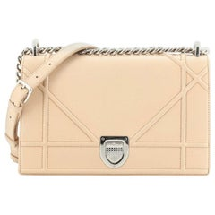 Christian Dior Diorama Flap Bag Calfskin Medium