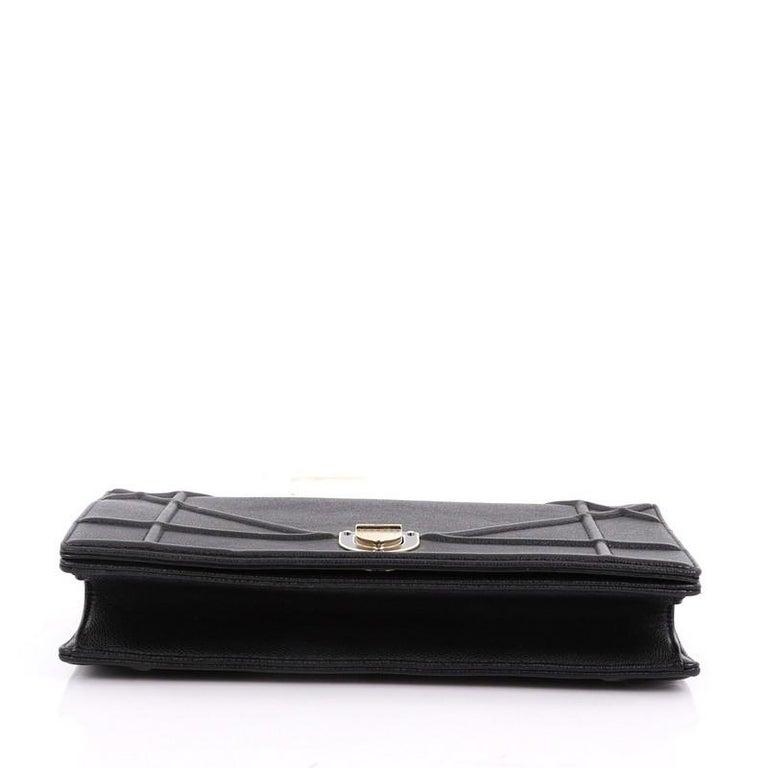 Women s Christian Dior Diorama Flap Bag Grained Calfskin Medium For Sale 1cf2d1431cb95