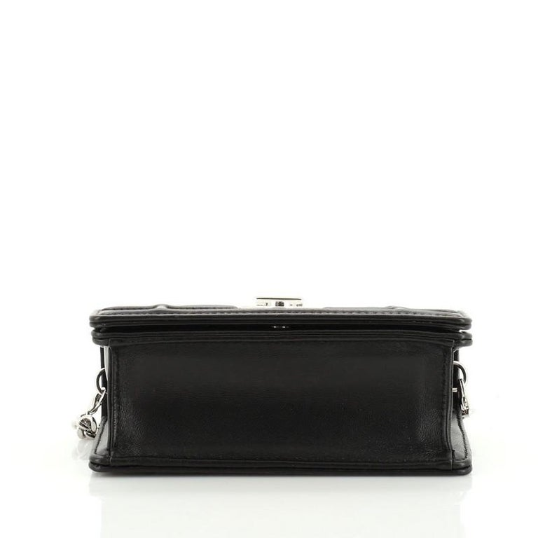 Women's or Men's Christian Dior Diorama Flap Bag Leather Baby For Sale